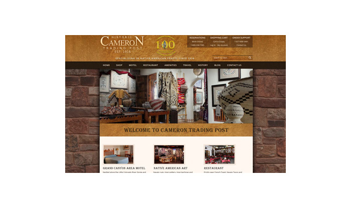Cameron Trading Post Website