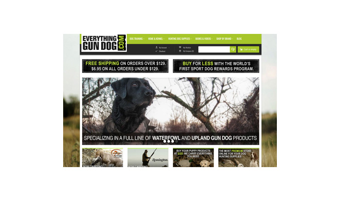 Everything Gun Dog Website