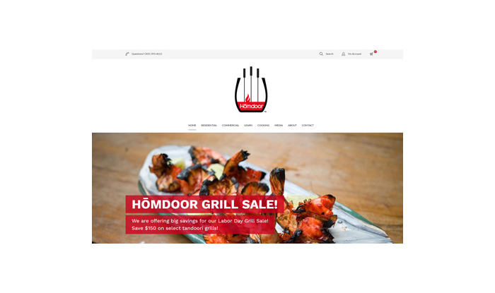 Homdoor Website