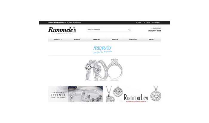 Rummeles Jewelry Website