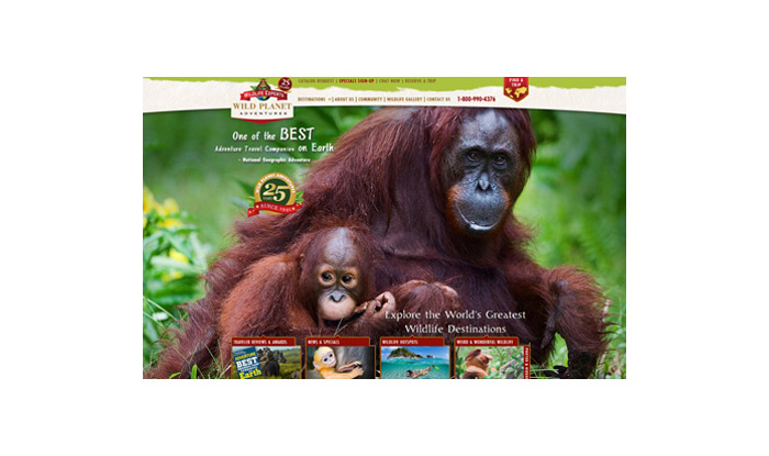 Wild Planet Adventures Website